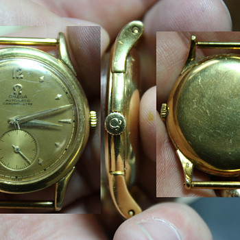 18K Omega Automatic Chronometre - Wristwatches