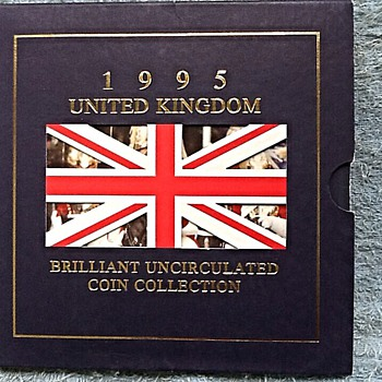 1945-1995, end of ww2-50th anniversary coin set. - World Coins