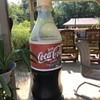 "CocaCola ""giant bottle"" drink cooler"
