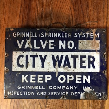 City Water sign - Signs