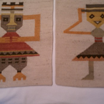Mexican or South American weavings?