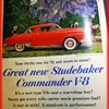 Vintage ADVERTISING  from 1951 -- CARS etc