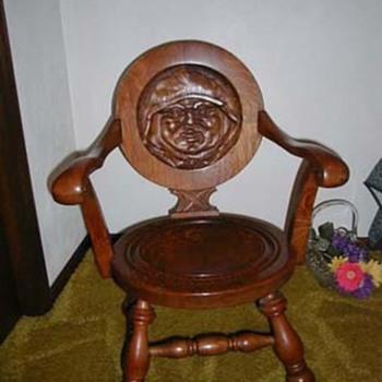 Monk rocking chair - Furniture