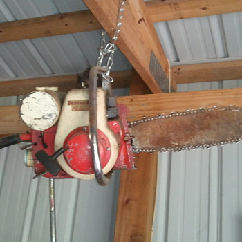 Left handed chainsaw - Tools and Hardware