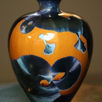 Crystalline Vase - Pottery