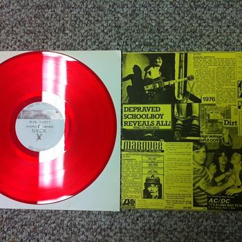 AC/DC LIVE '76 Bootleg  - Records