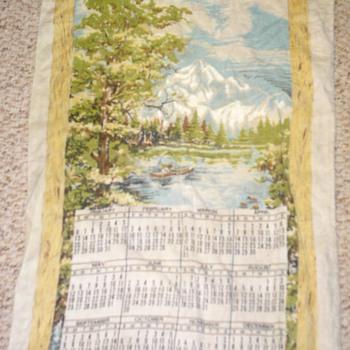 1974 calendar tapestry - Advertising