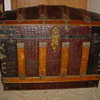 Travel Trunk/Chest with Alligator Skin cover