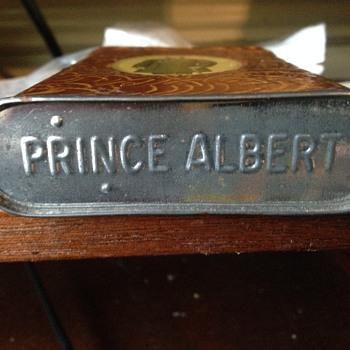Prince Albert with brown covering