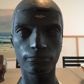 Bust - Head of a Bomb Thrower by Maurice Stern - Fine Art