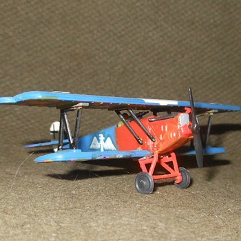 Bchmann Mini-Planes Fokker D-VII Circa 1970s - Military and Wartime
