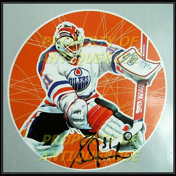 Trash to Treasure Find -- Real Signed Wood Plaque ( 4 ) Autographs - Hockey