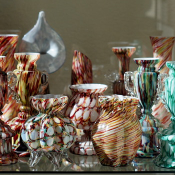 Some Shelves of Welz!! - Art Glass