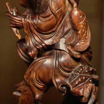 Chinese Hardwood Carving