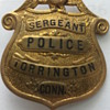 Antique/Vintage Police Badge Pin
