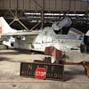 A7 Corsair in Abandoned WW2 Hangar, Alameda NAS