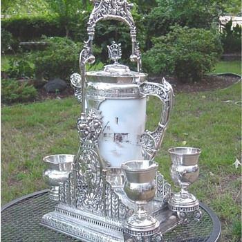 Silver Water Pitcher - Silver