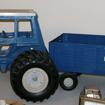 My Big Blue Tractor - Toys