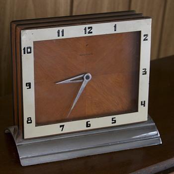 Waltham Clock...Art Deco Style - Art Deco