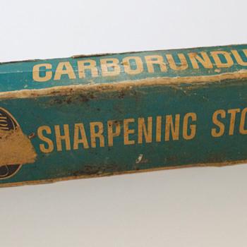 Carborundum Sharpener - Tools and Hardware
