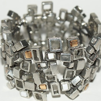Brutalist Bracelet Made in Canada: Osmose, Sonia Ferland (Thanks exbellmaria)       - Fine Jewelry