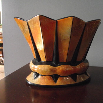 In herited the vases from my great aunt, does anyone else have something similar? - Art Deco