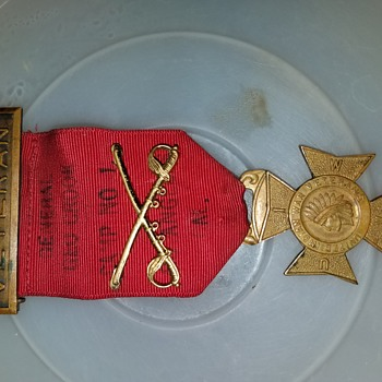 Indian war badge/medals - Military and Wartime