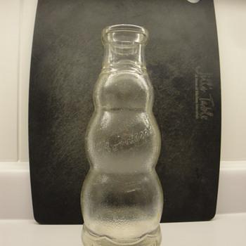 Snowman shaped bottle