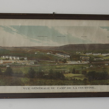 Camp de la Courtine...French Army Base....pre WWI photo - Military and Wartime