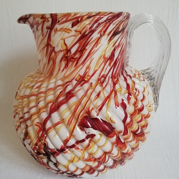 Welz Peloton Glass Jug ..... Capacity 1.5 litres - Art Glass