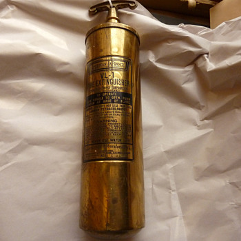 American LaFrance Fire Extinguisher Need Info - Firefighting