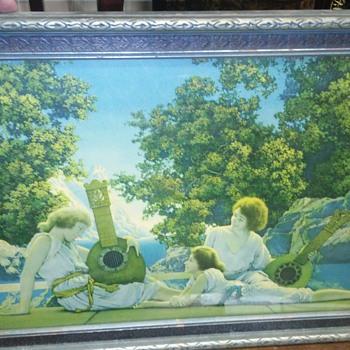 Maxfield Parrish print - Fine Art