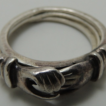 Sterling Silver Friendship Ring