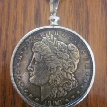 1900 Morgan Silver Dollar Necklace