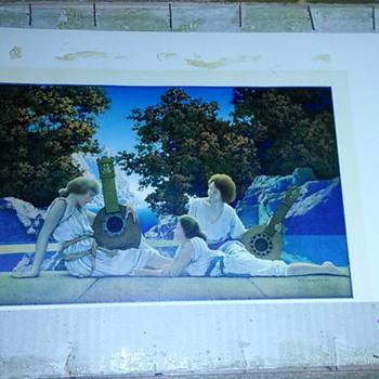 Two Maxfield Parrish prints  - Fine Art