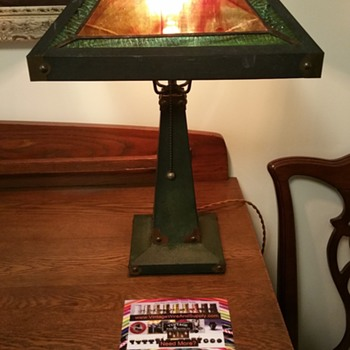 arts and crafts style lamp - Lamps