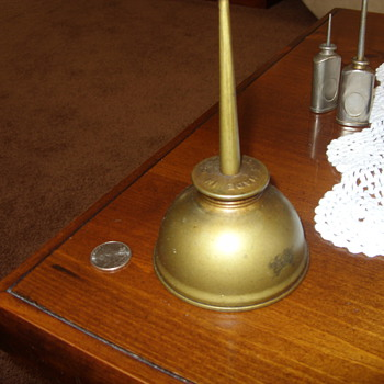 eagle brass squirt oil can - Tools and Hardware