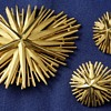 Trifari Starburst Brooch Set - Star Rays Collection