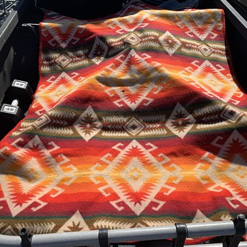 Vintage Beaver State Pendleton blanket - Rugs and Textiles