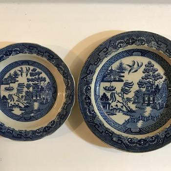 Blue Willow China - China and Dinnerware