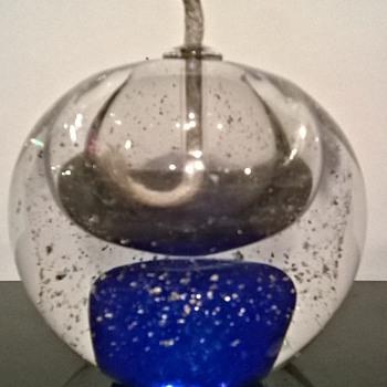 1960s/70s Glass Oil Burner ! Lamp !