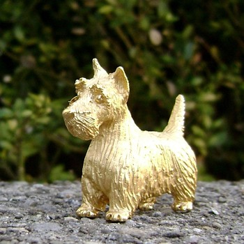 Trifari Scottish Terrier  - Animals