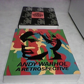 ANDY WARHOL A RETROSPECTIVE 1989 - Books