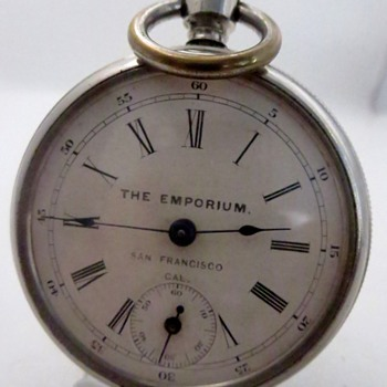 The Emporium, San Francisco - Pocket Watches