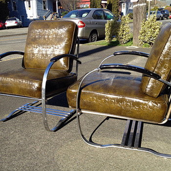 Hoffman/Howell Art Deco Chair?   - Art Deco