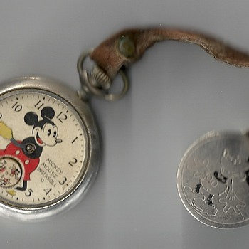 Ingersoll Mickey Mouse Pocket Wacth - Pocket Watches