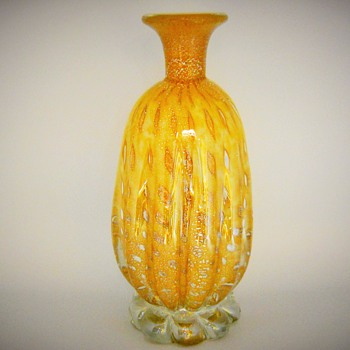 Alfredo Barbini, Murano Vase, Circa 1950-60 - Art Glass