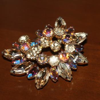 Vintage Brooch?  Maybe Sherman? - Costume Jewelry