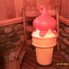 1950`S EAT IT ALL DAIRY QUEEN ICE CREAM CONE