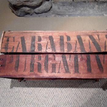 1920's Spanish laxative box